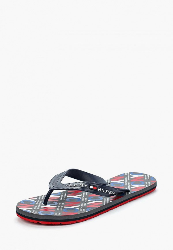Сланцы Tommy Hilfiger Tommy Hilfiger TO263AMAGBQ0 сланцы tommy hilfiger tommy hilfiger to263awagtj0