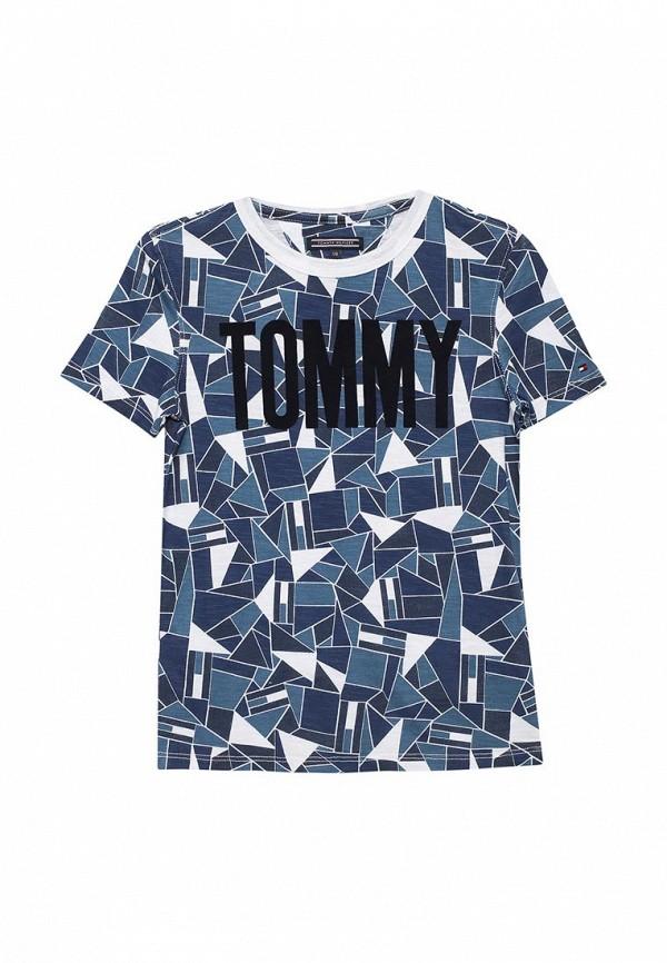 Футболка Tommy Hilfiger Tommy Hilfiger TO263EBACLI8 футболка tommy hilfiger denim tommy hilfiger denim to013ewtpb98