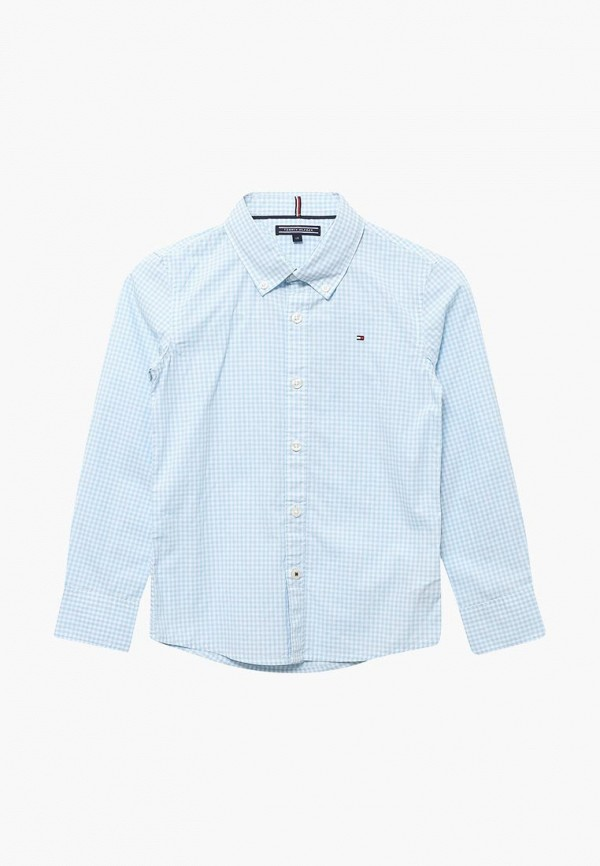 Рубашка Tommy Hilfiger Tommy Hilfiger TO263EBAVOV6 рубашка tommy hilfiger mw0mw01495 902 shirt blue classic white