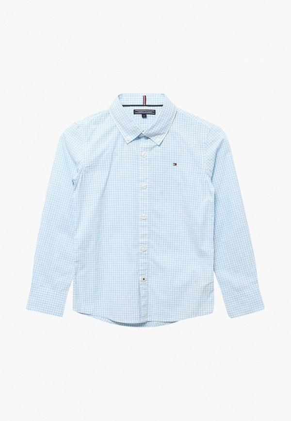 Рубашка Tommy Hilfiger Tommy Hilfiger TO263EBAVOV6 рубашка tommy hilfiger mw0mw03793 902 maritime blue bright white