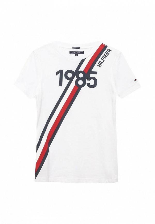 Футболка Tommy Hilfiger Tommy Hilfiger TO263EBAVOV8 футболка tommy hilfiger denim tommy hilfiger denim to013ewtpb98