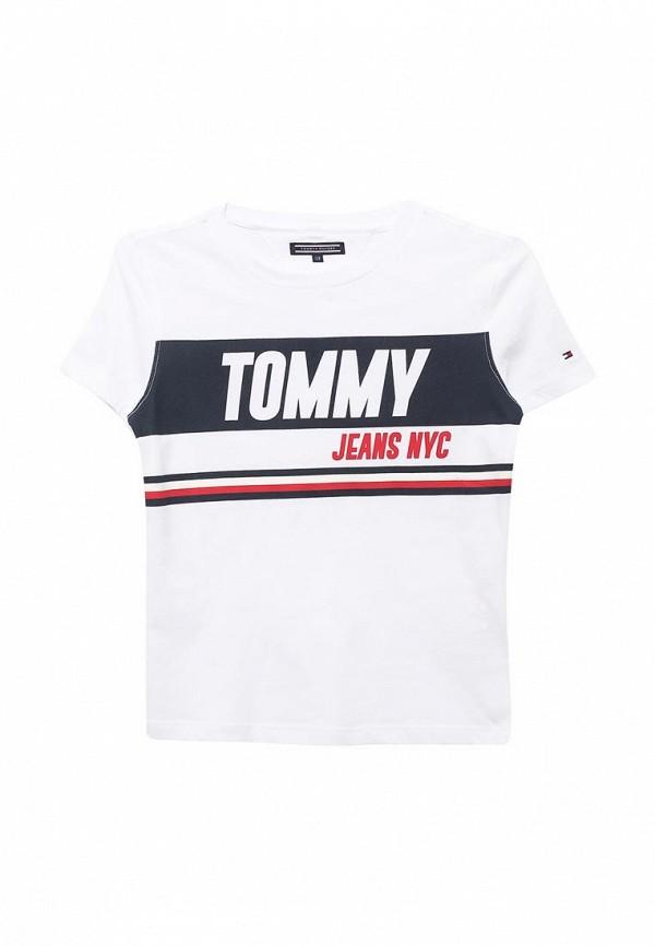 Футболка Tommy Hilfiger Tommy Hilfiger TO263EBAVOW2 футболка tommy hilfiger denim tommy hilfiger denim to013ewtpb98