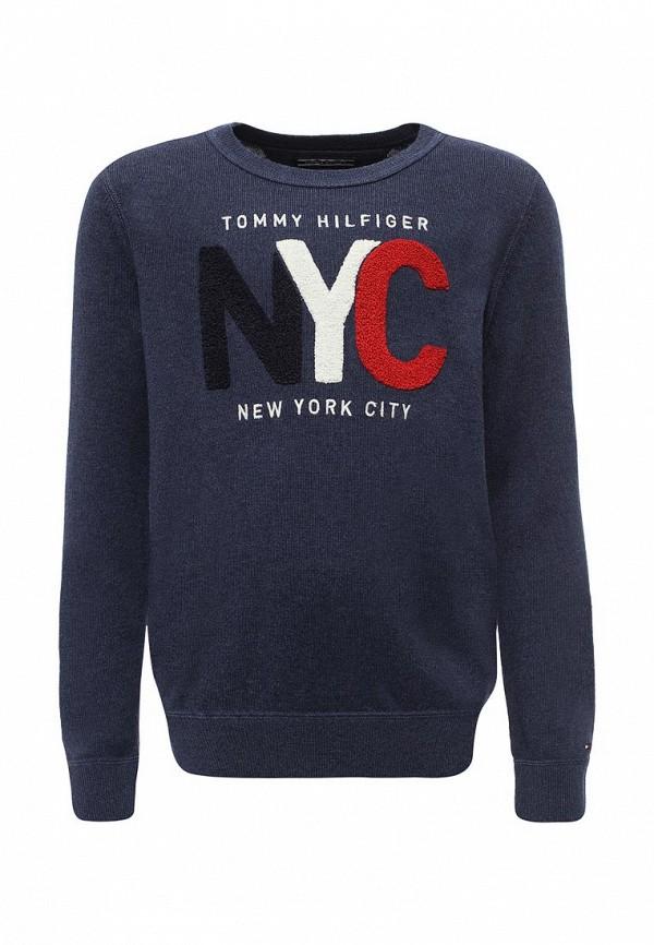 Джемпер Tommy Hilfiger Tommy Hilfiger TO263EBYBY49 джемпер tommy hilfiger ww0ww16758 903 crimson snow white eclipse