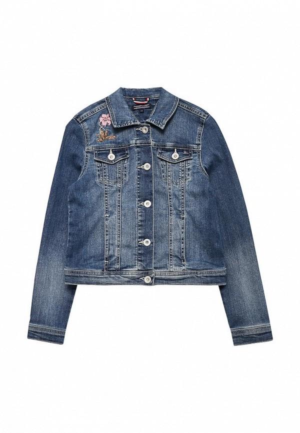 Куртка джинсовая Tommy Hilfiger Tommy Hilfiger TO263EGACLJ4 tommy hilfiger kids куртка
