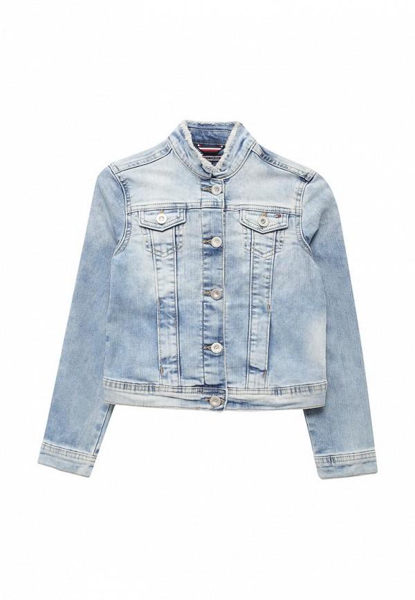 Куртка джинсовая Tommy Hilfiger Tommy Hilfiger TO263EGAVOU4 tommy hilfiger kids куртка