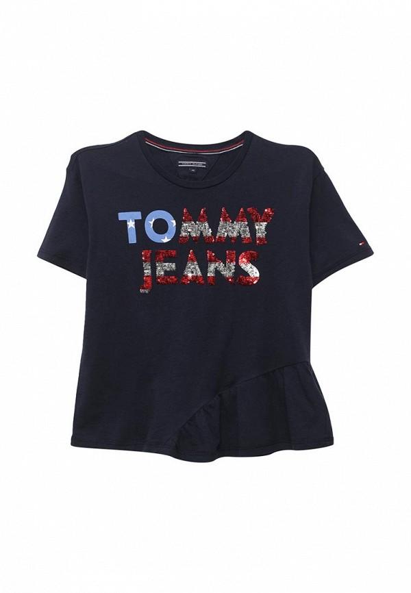 Футболка Tommy Hilfiger Tommy Hilfiger TO263EGAVOW4 футболка tommy hilfiger denim tommy hilfiger denim to013ewtpb98