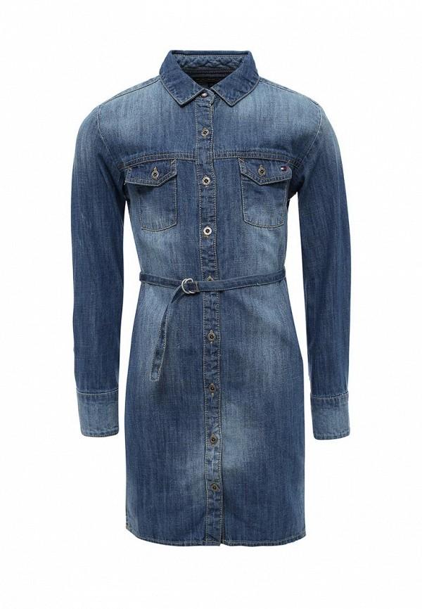 Платье джинсовое Tommy Hilfiger KG0KG02257