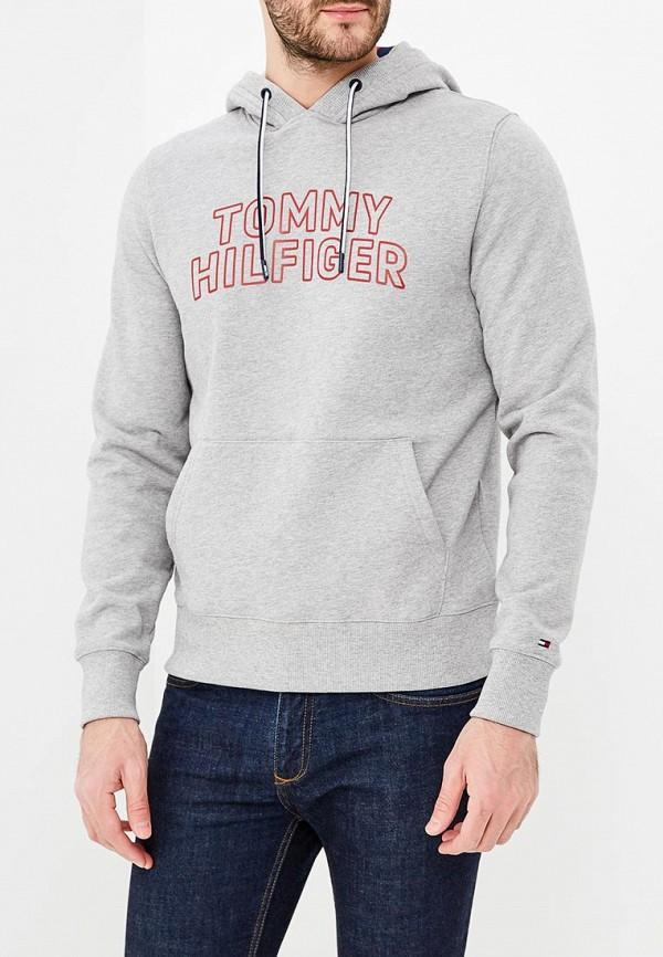 Купить Худи Tommy Hilfiger, TO263EMAGTR0, серый, Весна-лето 2018