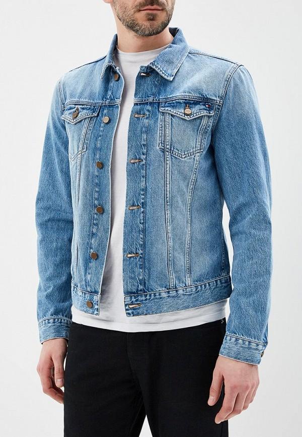 Куртка джинсовая Tommy Hilfiger Tommy Hilfiger TO263EMAGTV3 куртка tommy hilfiger mw0mw02101 403 sky captain