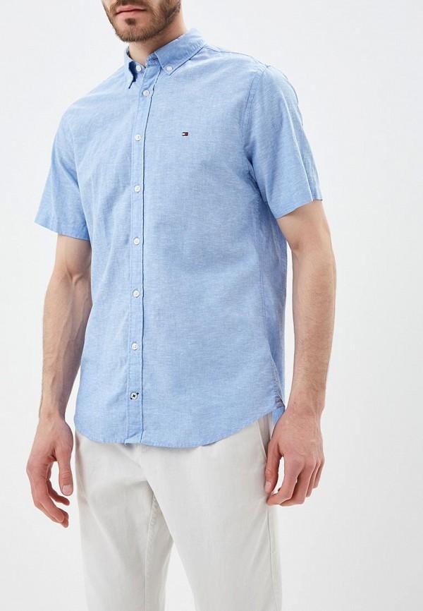 Рубашка Tommy Hilfiger Tommy Hilfiger TO263EMAGUF0 рубашка tommy hilfiger mw0mw03105 902 bright white royal blue