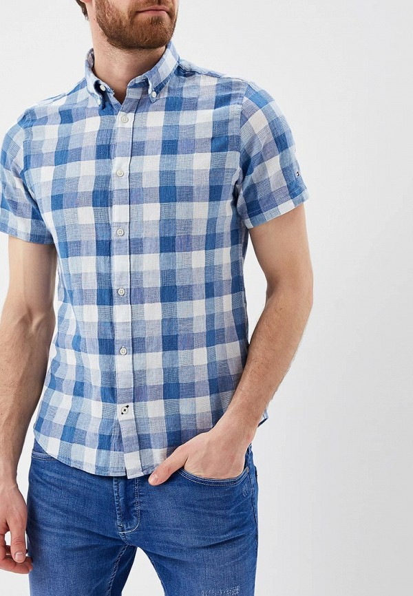 Рубашка Tommy Hilfiger Tommy Hilfiger TO263EMAGUF9 рубашка tommy hilfiger mw0mw01495 902 shirt blue classic white