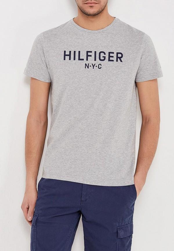 Футболка Tommy Hilfiger Tommy Hilfiger TO263EMAGUI6 футболка tommy hilfiger denim tommy hilfiger denim to013ewtpb98