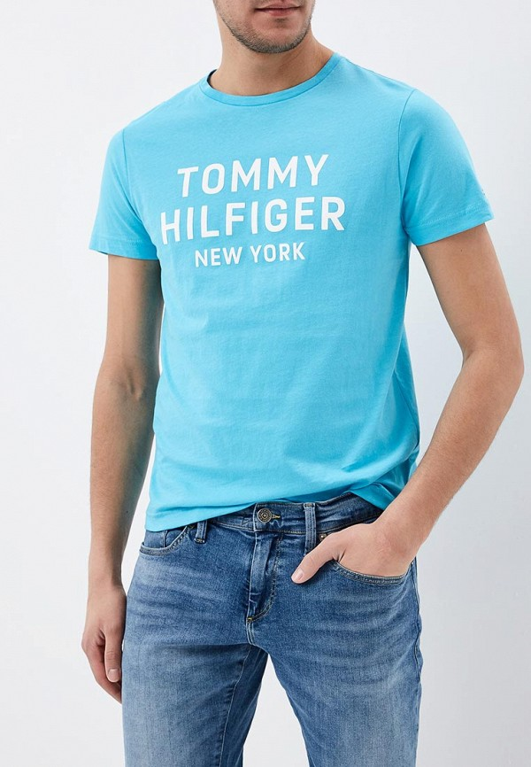 Футболка Tommy Hilfiger Tommy Hilfiger TO263EMAGUI9 футболка tommy hilfiger denim tommy hilfiger denim to013ewtpb98
