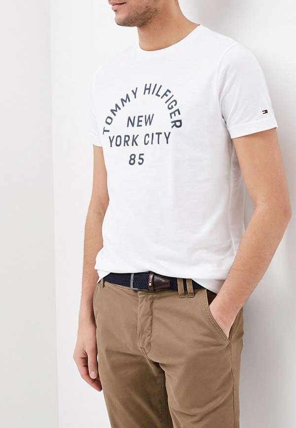Футболка Tommy Hilfiger Tommy Hilfiger TO263EMAGUK2 футболка tommy hilfiger denim tommy hilfiger denim to013ewtpb98