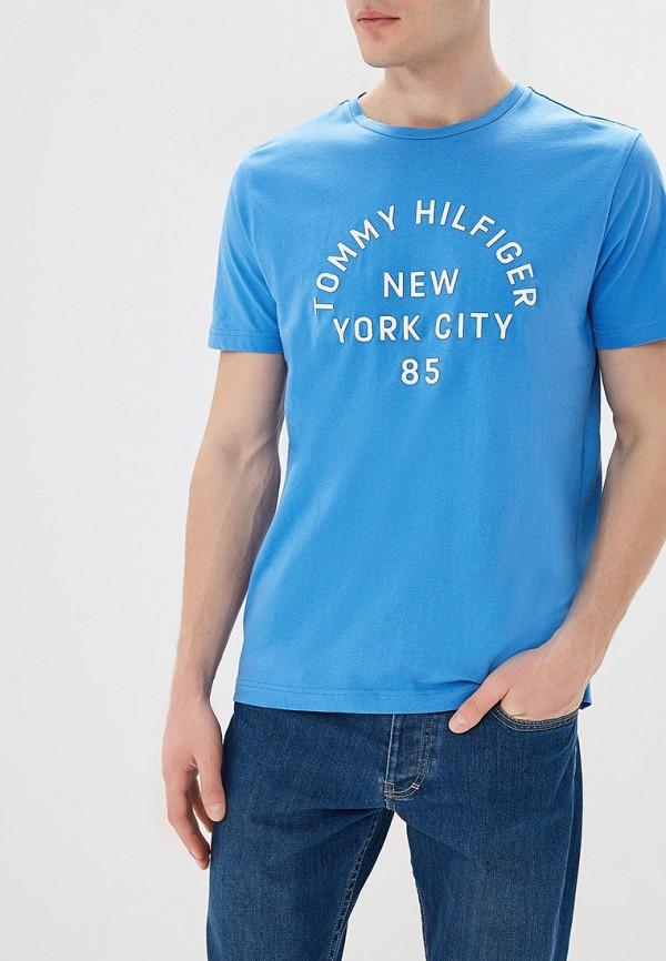 Футболка Tommy Hilfiger Tommy Hilfiger TO263EMAGUK5 футболка tommy hilfiger denim tommy hilfiger denim to013ewtpb98