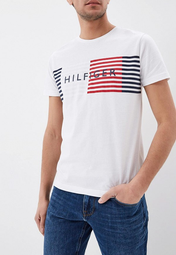 Футболка Tommy Hilfiger Tommy Hilfiger TO263EMAGUM5 футболка tommy hilfiger denim tommy hilfiger denim to013ewtpb98
