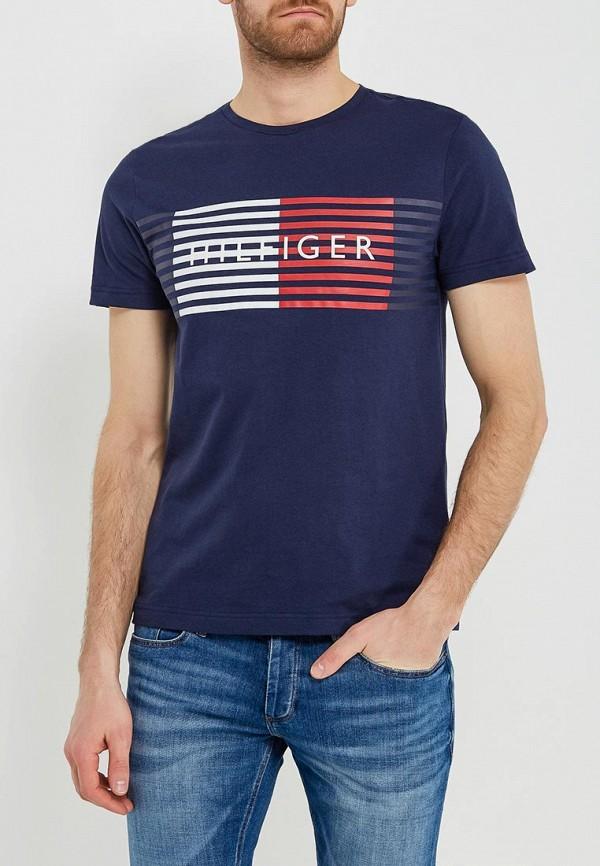 Футболка Tommy Hilfiger Tommy Hilfiger TO263EMAGUM6 футболка tommy hilfiger denim tommy hilfiger denim to013ewtpb98