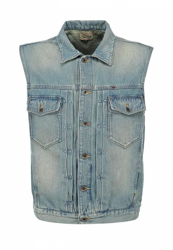 Жилет джинсовый Tommy Hilfiger TO263EMAYY09. Цвет: голубой