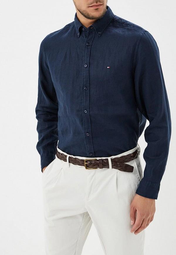 Рубашка Tommy Hilfiger Tommy Hilfiger TO263EMBHQB3 рубашка tommy hilfiger mw0mw03105 902 bright white royal blue