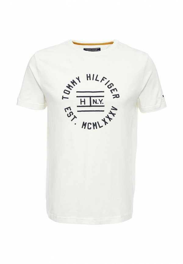 Футболка с надписями Tommy Hilfiger (Томми Хилфигер) 08878A0259