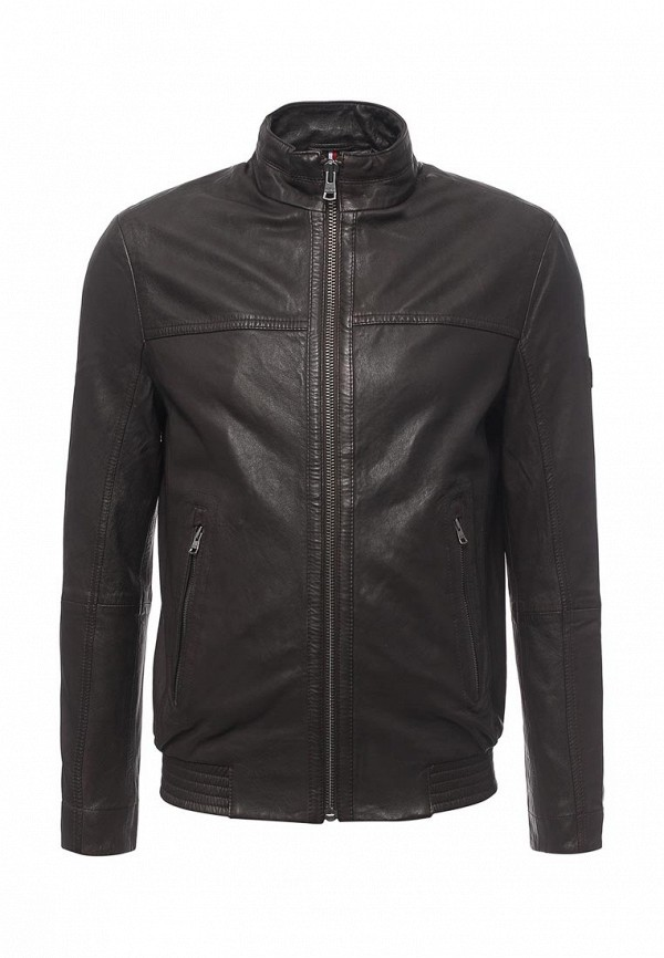 Кожаная куртка Tommy Hilfiger (Томми Хилфигер) MW0MW00108