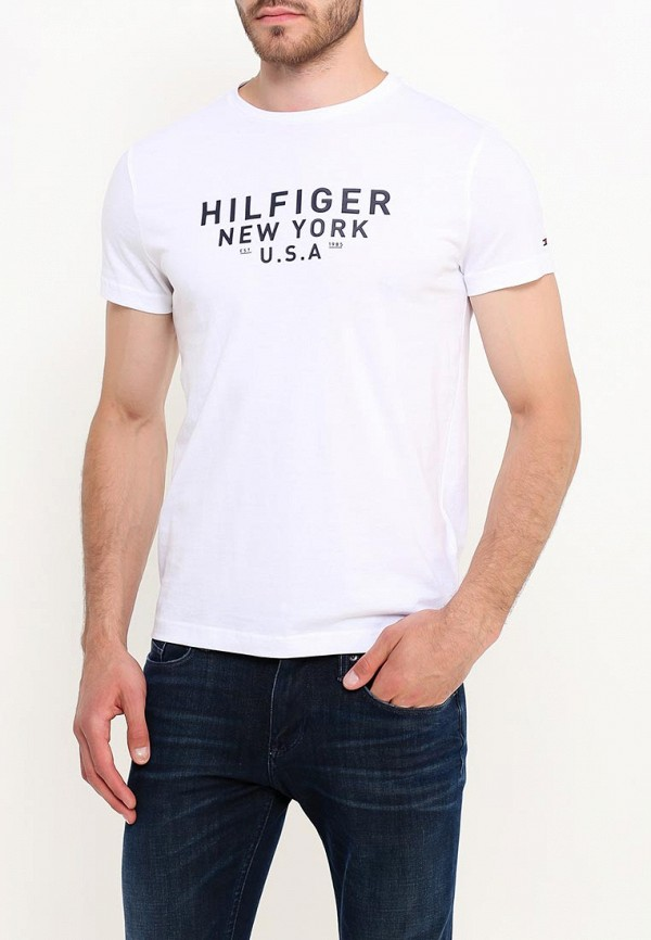 Футболка Tommy Hilfiger Tommy Hilfiger TO263EMUFL84 футболка tommy hilfiger denim tommy hilfiger denim to013ewtpb98