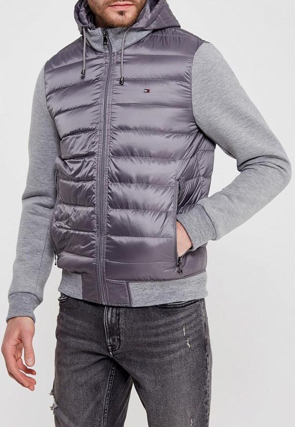 Куртка утепленная Tommy Hilfiger Tommy Hilfiger TO263EMYZX32 куртка tommy hilfiger mw0mw02101 403 sky captain