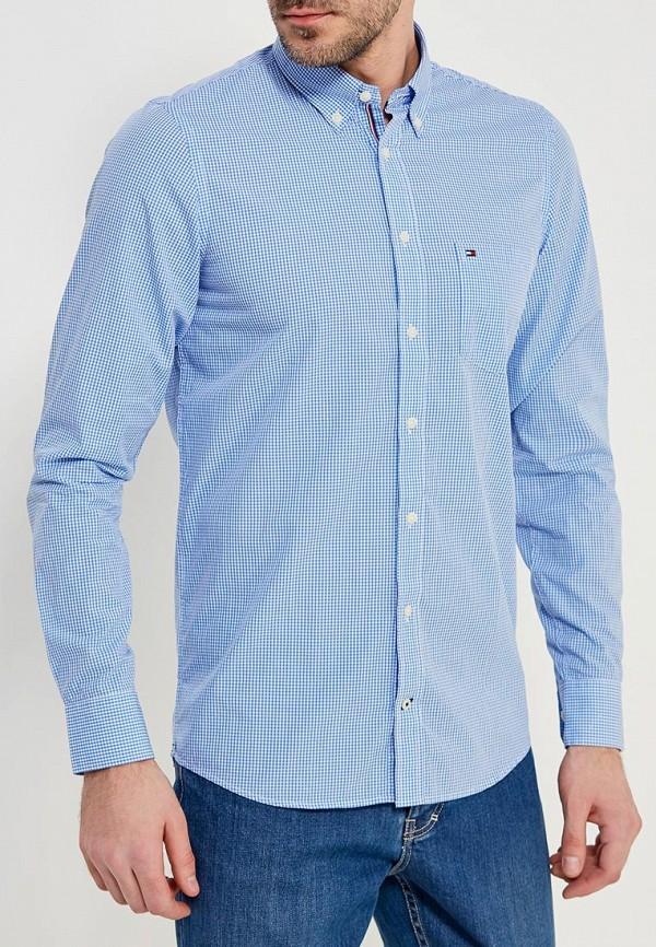 Рубашка Tommy Hilfiger Tommy Hilfiger TO263EMYZX39 рубашка tommy hilfiger mw0mw03105 902 bright white royal blue