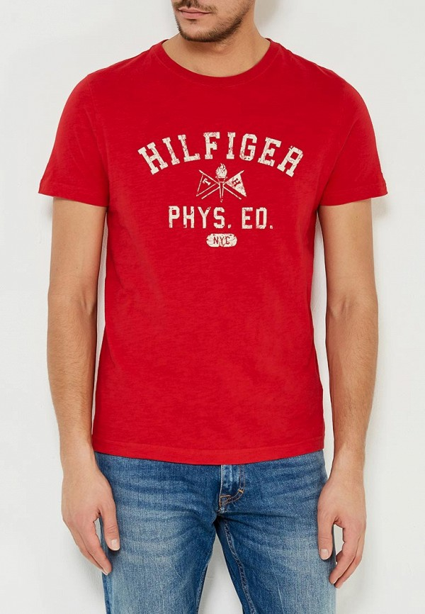 Футболка Tommy Hilfiger Tommy Hilfiger TO263EMYZX72 футболка tommy hilfiger denim tommy hilfiger denim to013ewtpb98