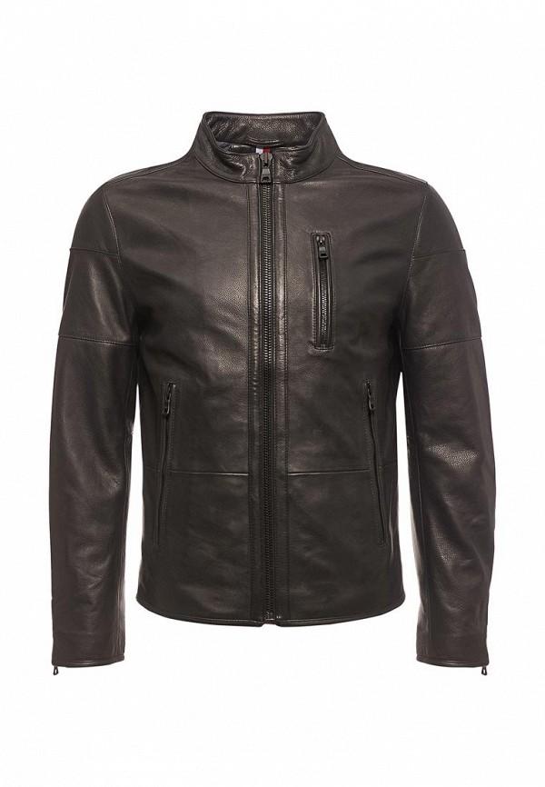 Куртка кожаная Tommy Hilfiger Tommy Hilfiger TO263EMYZX86 tommy hilfiger kids куртка