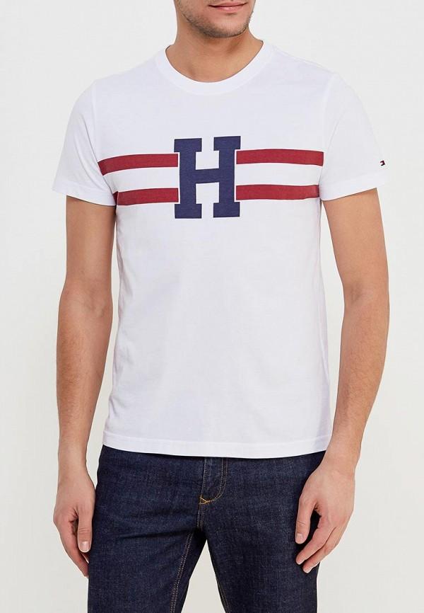 Футболка Tommy Hilfiger Tommy Hilfiger TO263EMZIU46 футболка tommy hilfiger denim tommy hilfiger denim to013ewtpb98