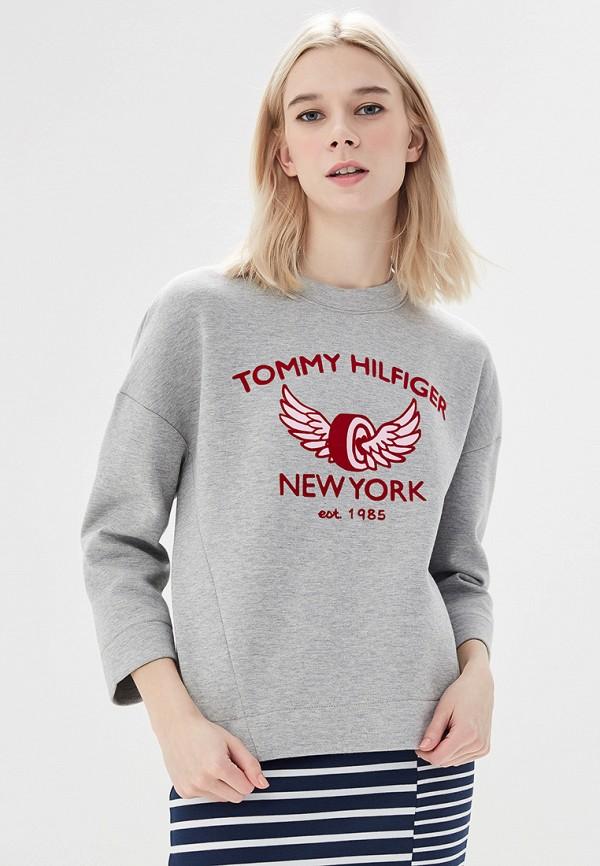 Свитшот Tommy Hilfiger Tommy Hilfiger TO263EWAITR6 свитшот tommy hilfiger ww0ww20775 039 light grey htr