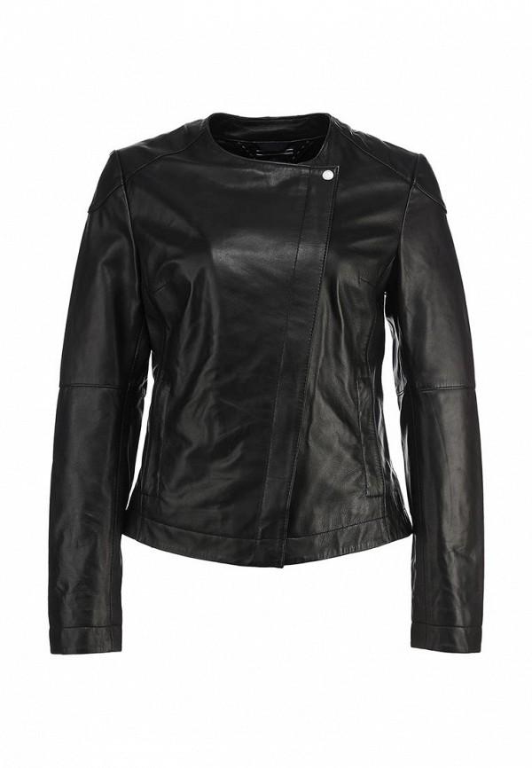Куртка кожаная Tommy Hilfiger TO263EWBUN14. Цвет: черный