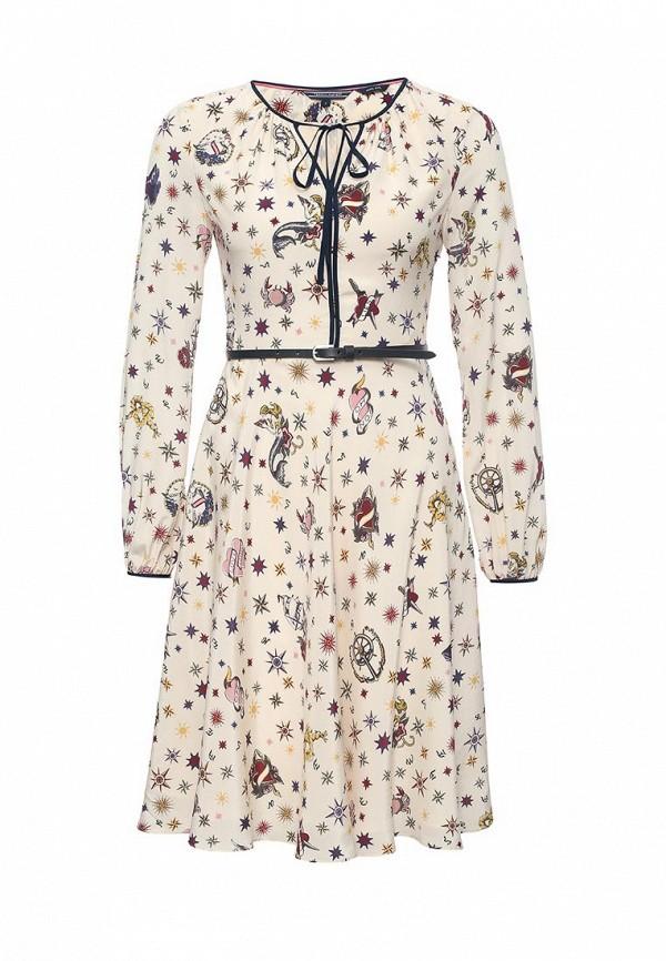 Платье-миди Tommy Hilfiger (Томми Хилфигер) WW0WW15596