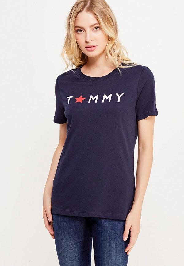 Футболка Tommy Hilfiger Tommy Hilfiger TO263EWUFO94 джемпер tommy hilfiger ww0ww16758 903 crimson snow white eclipse