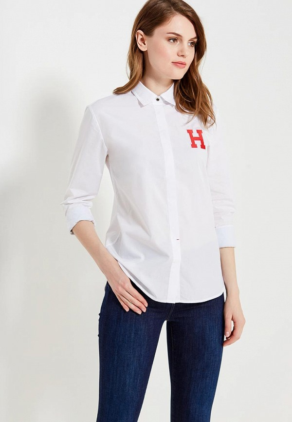 Рубашка Tommy Hilfiger Tommy Hilfiger TO263EWUFT11 рубашка tommy hilfiger tommy hilfiger to263emaguf0