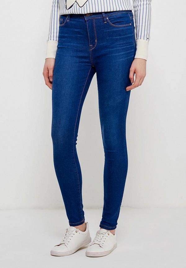 Джинсы Tommy Hilfiger Tommy Hilfiger TO263EWZFV79 tommy hilfiger new white navy women s size 16 slim skinny striped jeans $79 394