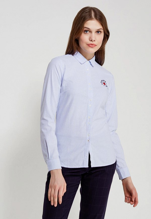 Рубашка Tommy Hilfiger Tommy Hilfiger TO263EWZFV88 футболка tommy hilfiger 1m87655149ls 15 tommy polo 790