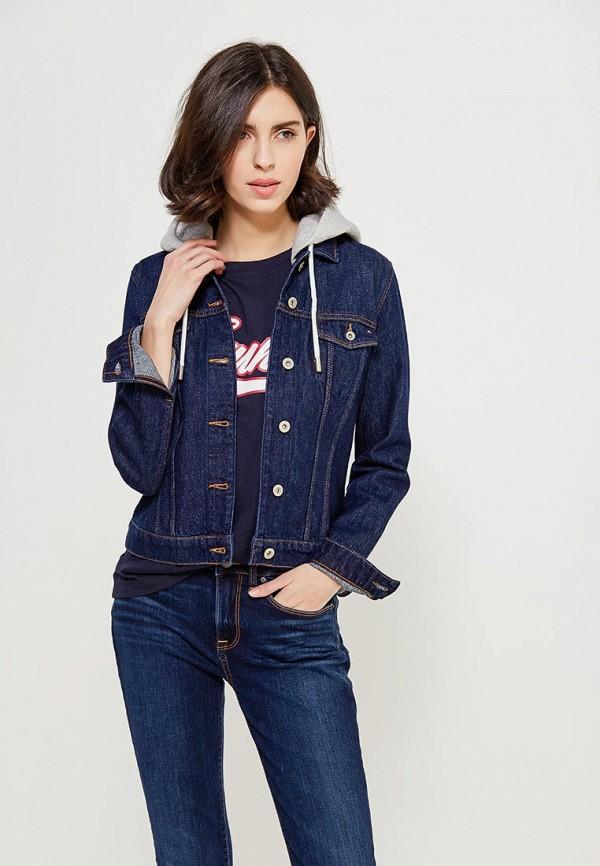 Куртка джинсовая Tommy Hilfiger Tommy Hilfiger TO263EWZHJ33 tommy hilfiger kids куртка