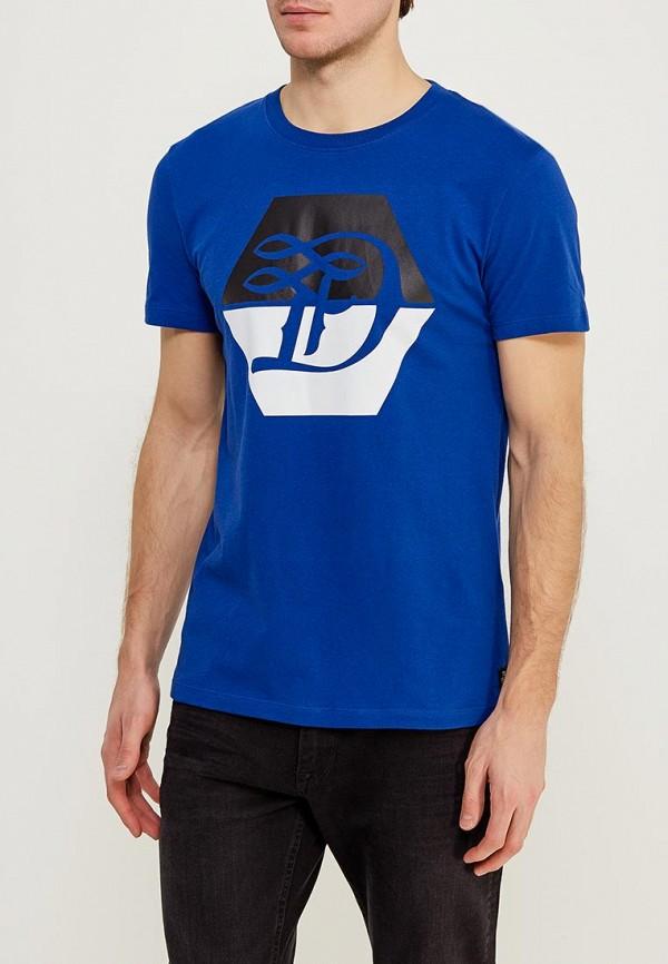 Футболка Tom Tailor Denim Tom Tailor Denim TO793EMACPT1 блузка женская tom tailor denim цвет темно синий 1036105 01 71 6901 размер xs 42
