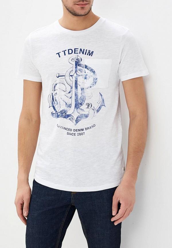 Футболка Tom Tailor Denim Tom Tailor Denim TO793EMATWO6 футболка tom tailor denim tom tailor denim to793ewacqg7