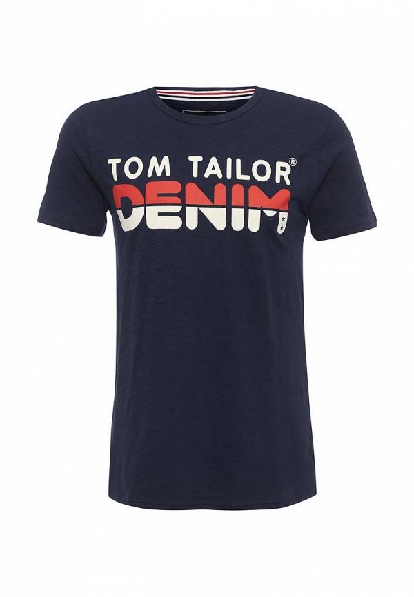 Футболка Tom Tailor Denim Tom Tailor Denim TO793EMPZU42 tom tailor tom tailor 103410140302000