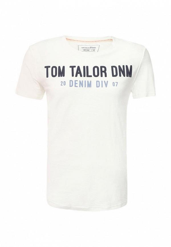 где купить  Футболка Tom Tailor Denim Tom Tailor Denim TO793EMPZV19  по лучшей цене