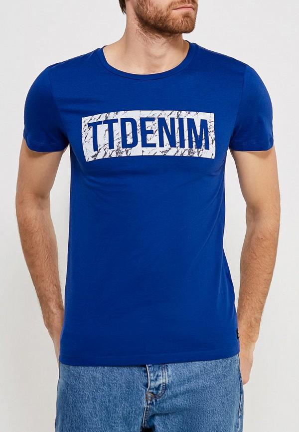 цена Футболка Tom Tailor Denim Tom Tailor Denim TO793EMZID97 онлайн в 2017 году
