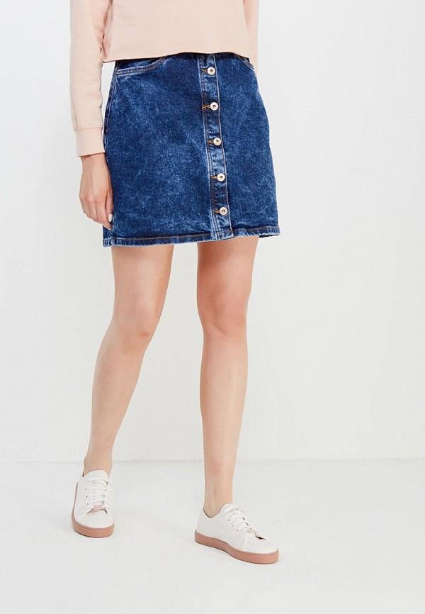 Юбка джинсовая Tom Tailor Denim Tom Tailor Denim TO793EWACPM1 цена