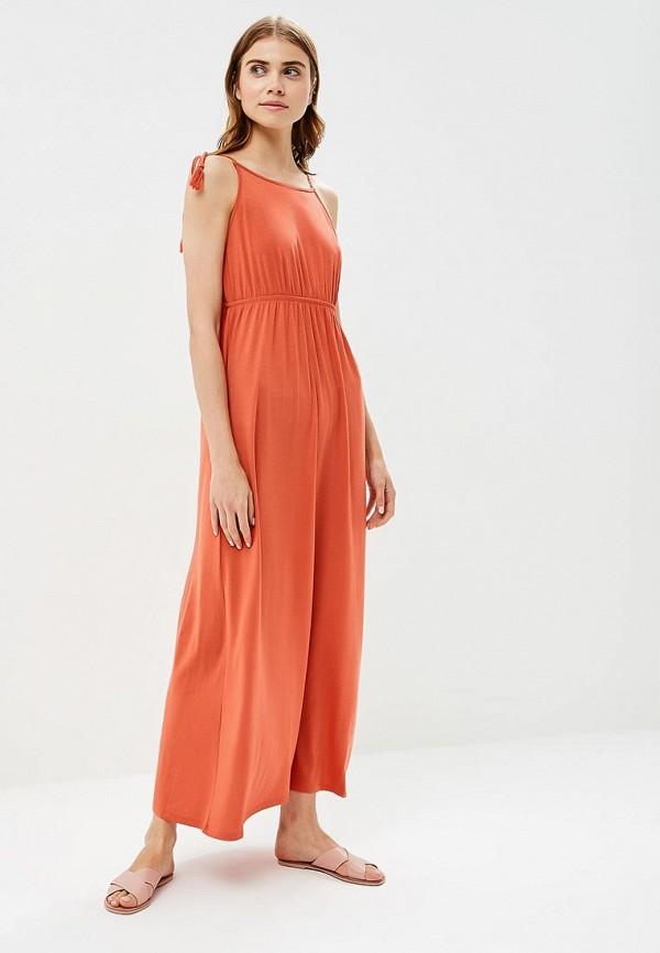 Купить Платье Tom Tailor Denim, TO793EWBQBV9, оранжевый, Весна-лето 2018