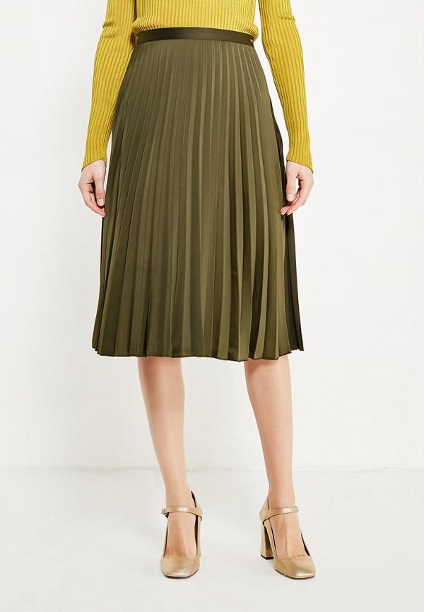 Фото - женскую юбку Tom Tailor Denim цвета хаки