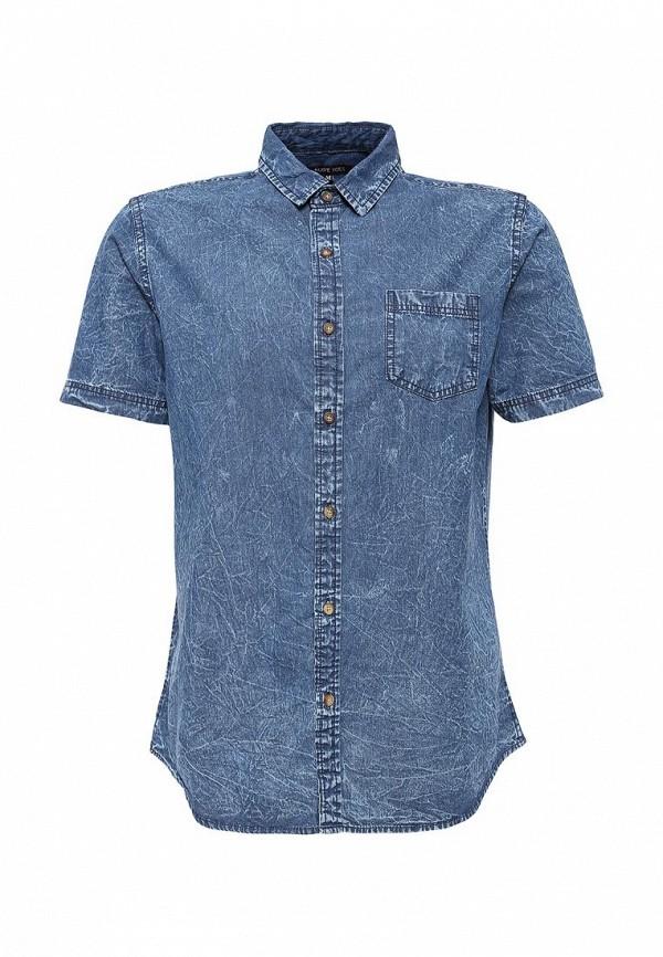Фото - Рубашку джинсовая Top Secret синего цвета