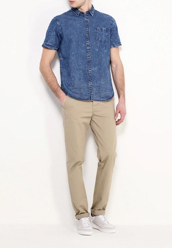 Фото 2 - Рубашку джинсовая Top Secret синего цвета