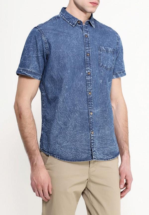Фото 3 - Рубашку джинсовая Top Secret синего цвета